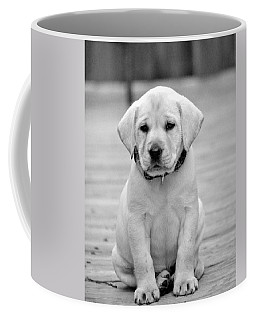 Black And White Puppy Coffee Mug