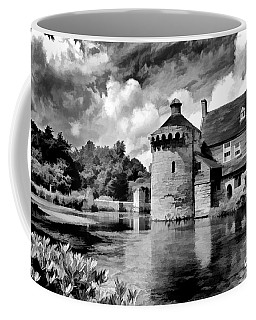 Scotney Castle In Mono Coffee Mug