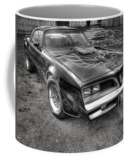 Black And White Trans Am Coffee Mug