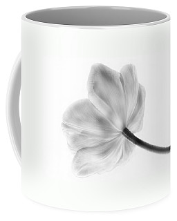 Black And White Tulip Coffee Mug