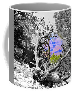 Black And White With Color Coffee Mug