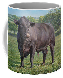 Black Angus Bull 2 Coffee Mug