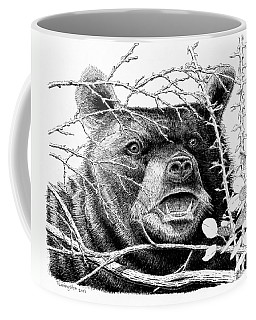 Black Bear Boar Coffee Mug