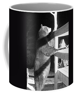 Coffee Mug featuring the photograph Black Bear by Mim White