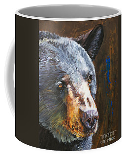 Black Bear The Messenger Coffee Mug