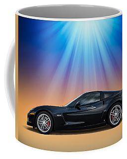 Black C6 Coffee Mug