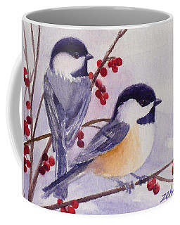 Black-capped Chickadees Coffee Mug