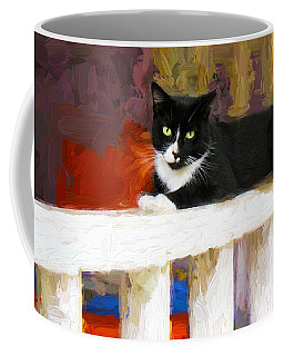 Black Cat In Color Series 2 Coffee Mug
