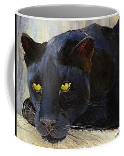 Black Cat Coffee Mug by Jamie Frier