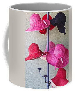 Coffee Mug featuring the photograph Black Chapeau Of The Family by Rick Locke