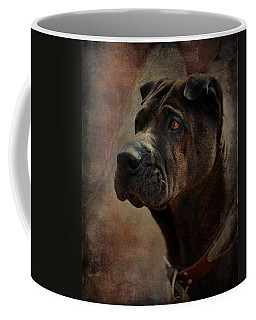Black Chinese Shar-pei Coffee Mug