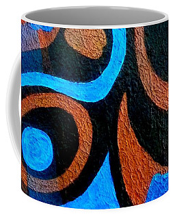 Black Coffee Abstract Coffee Mug