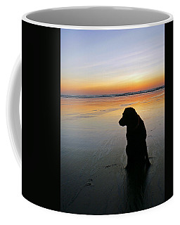 Black Dog Sundown Coffee Mug