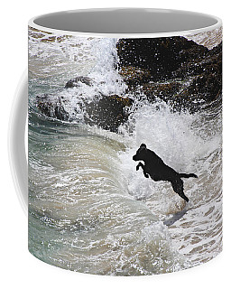 Black Dog Coffee Mug