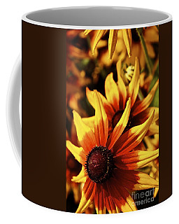 Black Eyed Susan Coffee Mug by Linda Bianic
