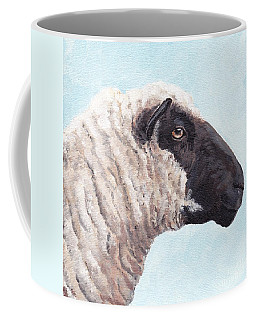 Black Face Sheep Coffee Mug