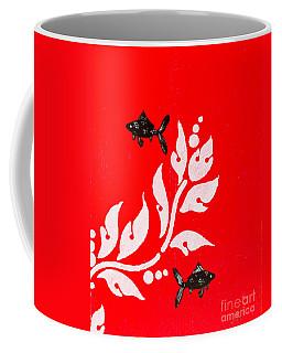 Black Fish Left Coffee Mug