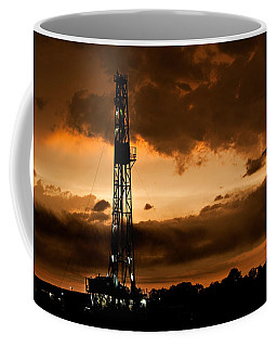 Black Gold Coffee Mug