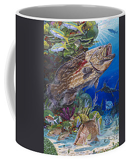Black Grouper Hole Coffee Mug