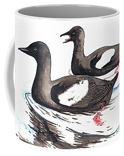 Black Guillemot Coffee Mug