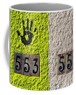 Black Hand Coffee Mug by Joe Kozlowski