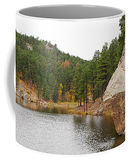 Coffee Mug featuring the photograph Black Hills Lake by Mary Carol Story
