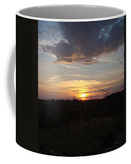 Coffee Mug featuring the photograph Black Hills Sunset IIi by Cathy Anderson