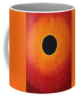 Black Hole Sun Original Painting Coffee Mug