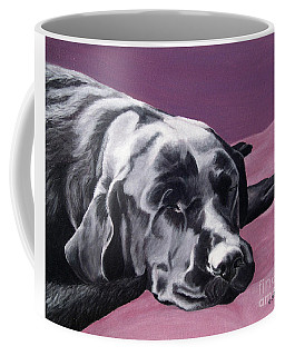 Black Labrador Beauty Sleep Coffee Mug
