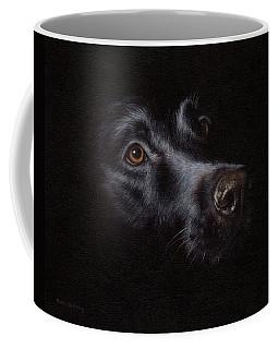 Black Labrador Painting Coffee Mug