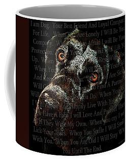 Black Labrador Retriever Dog Art - I Am Dog Coffee Mug