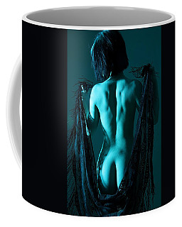 Black Lace Coffee Mug