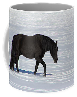 Coffee Mug featuring the photograph Black Magic by Fiona Kennard
