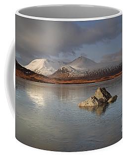 Black Mount And Lochan Na H-achlaise Coffee Mug
