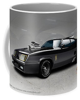 Black On Black Coffee Mug