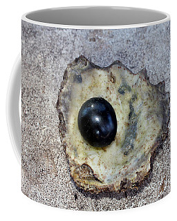 Coffee Mug featuring the photograph Black Pearl by Sergey Lukashin