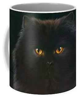 Black Persian Coffee Mug
