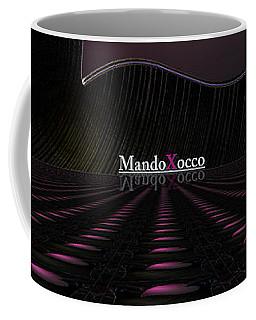 Black Pink Luv Line Coffee Mug