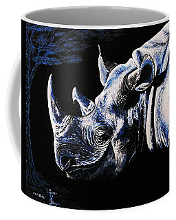 Black Rino Coffee Mug