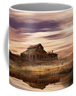 Coffee Mug featuring the photograph Black Sage Dawn by John Poon