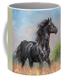 Black Stallion Coffee Mug