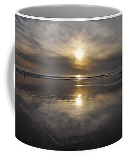 Black Sunset Coffee Mug
