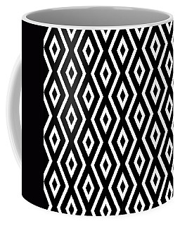 Black And White Pattern Coffee Mug