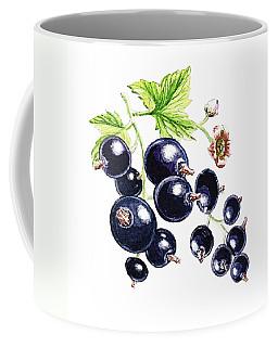 Blackcurrant Berries  Coffee Mug by Irina Sztukowski