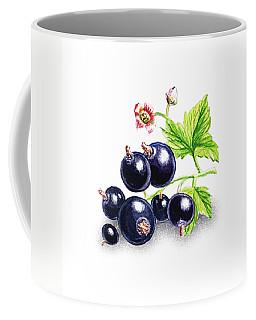 Blackcurrant Still Life Coffee Mug by Irina Sztukowski