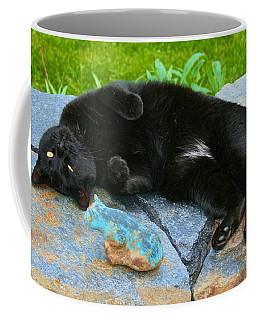Blackjack Posing Coffee Mug