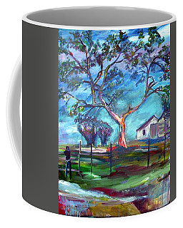 Blanco Texas Ranch House Coffee Mug