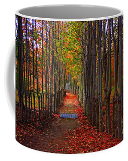 Blanket Of Red Leaves Coffee Mug