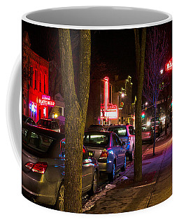 Blatz Neon Coffee Mug by James  Meyer