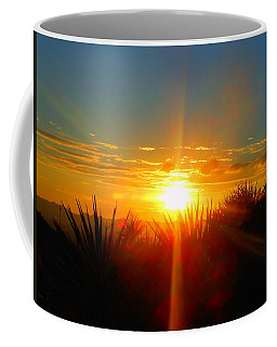 Blaze In The Desert Coffee Mug